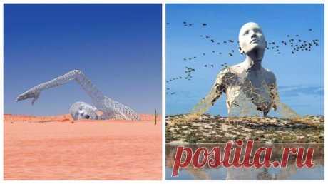 Футуристические 3D-скульптуры от Чада Найта (26фото) » Невседома - жизнь полна развлечений