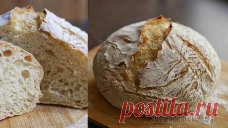 Хлеб без замеса по рецепту Джима Лэхей Хлеб без замеса по легендарному рецепту Джима Лэхей наверно пробовали испечь уже все, кто хоть немного увлекается выпечкой. Уникальность этого рецепта состоит в том, что количество дрожжей сводится к ...