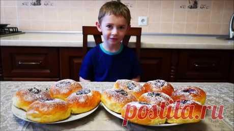 Рецепт ИДЕАЛЬНОГО ДРОЖЖЕВОГО теста Булочки с маком булочки с джемом булочки с шоколадом
