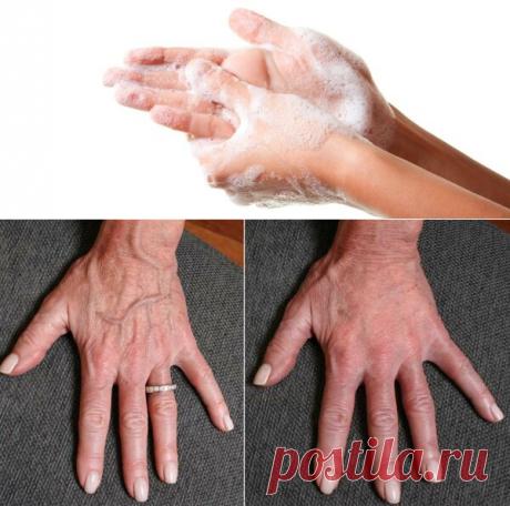 """""""Шипучка"""" для рук: в любом возрасте средство омолаживает и убирает пигментные пятна с рук - Кулинария"""