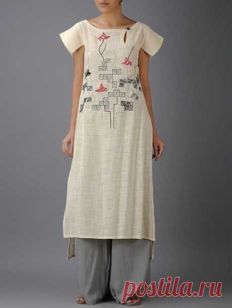 Роскошные летние льняные платья с вышивкой. Идеи для вдохновения | Вертолет на пенсии | Яндекс Дзен