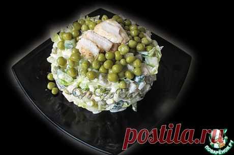 """Русский салат """"Ивлевье"""" Кулинарный рецепт"""