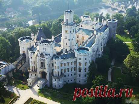 «Замок Глубока над Влтавой» — карточка пользователя Елена Добровольская в Яндекс.Коллекциях