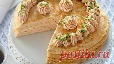 Блинчатые пироги, рецепты блиннных пирогов на Gastronom.ru