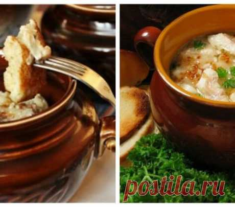 7 original recipes of dishes in a pot