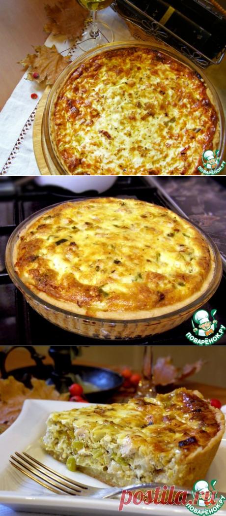 Лотарингский сырный пирог – кулинарный рецепт