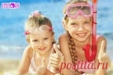 Отдых на море с ребенком, что нужно взять с собой