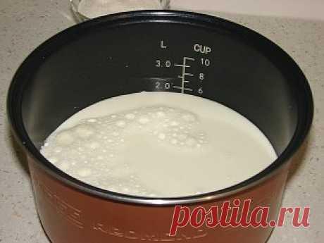 Como hacer el yogurt sabroso de casa en la multicocción de Redmond y Polaris - las recetas de la foto.