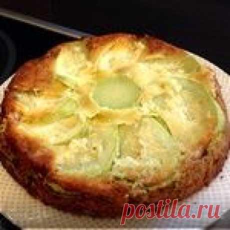 El pastel italiano con los calabacines