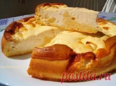 Ленивая ватрушка — вкусно, быстро, сытно    Идеальный завтрак!           Ингредиенты: сладкий творог — 500 граммяйца — 3 штукисахар — 2 ч.л.яблоки — 2 штуки Тесто  яйца — 3 штукисметана — 4-5 ст. л.2 ст. л. раст. масламука — 5-6 ст. л.1 ч…