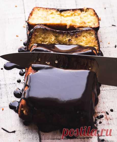 Yotam Ottolenghi's Flourless Coconut Cake | вид с Большого острова
