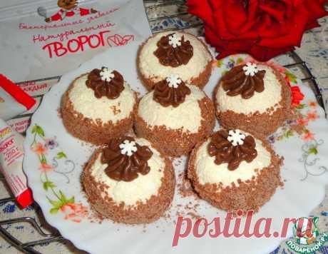 Творожные конфеты с шоколадной начинкой – кулинарный рецепт