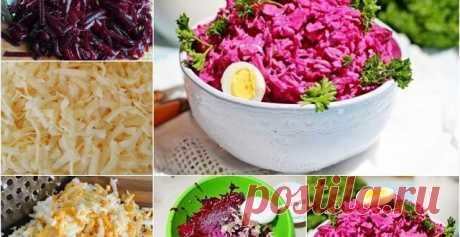 Свекольный салат с сыром - Худеем вкусно Такой салат готовится очень легко, но несмотря на это, он очень вкусный. Его можно как на обед, так