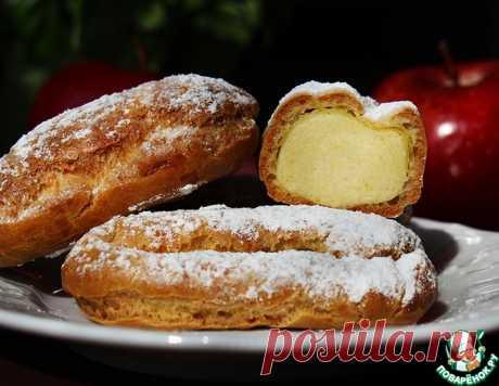 Эклеры с яблочно-заварным кремом – кулинарный рецепт