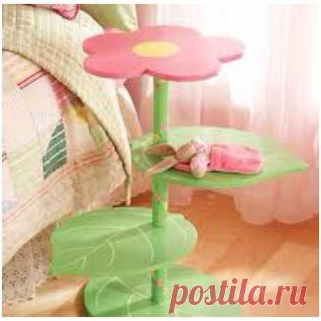 Flower nightstand