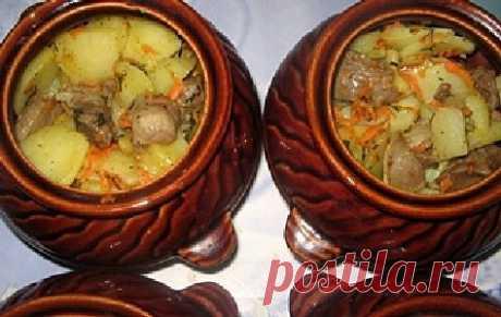 Roast home-style in pots