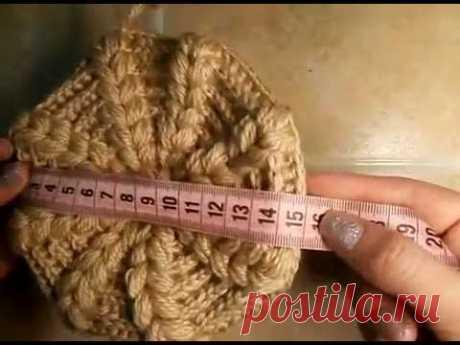 Yurcovsky Olya, Видео курс как связать теплую шапочку крючком, вяжем вместе шапку крючком, вязание для начинающих