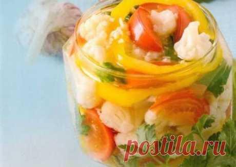Салат из цветной капусты на зиму Автор рецепта Cookpad Russia - Cookpad