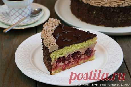 Торт «Гусиные лапки».