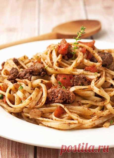 Печенка с макаронами: вкусные и простые рецепты . Милая Я