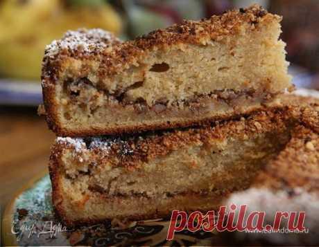 Ореховый пирог на сметане