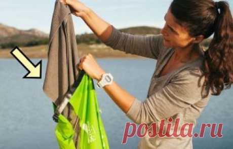Как быстро постирать одежду без раковины и машинки: хитрость для походов и командировок — Лайфхаки