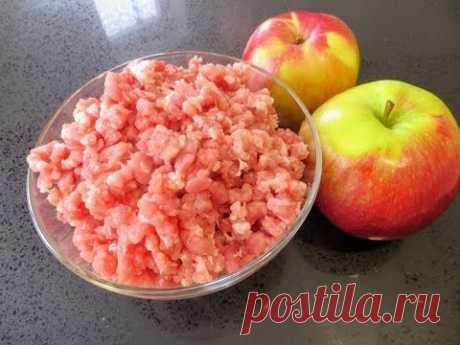 Такого вы еще не пробовали! Ленивый рецепт котлет с яблоком / Рецепт в духовке от Другой Кухни
