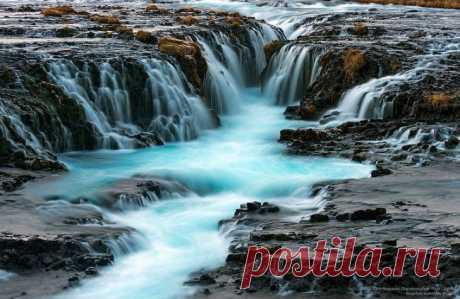 От силы и энергии этих водопадов у вас завибрирует даже мышка • НОВОСТИ В ФОТОГРАФИЯХ