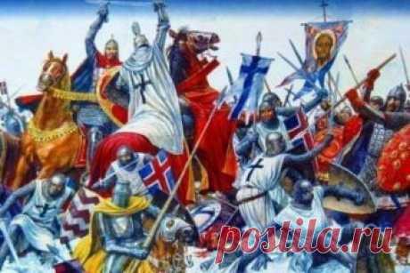Ледовое побоище: великая битва Руси против Запада 5 апреля 1242 года на Чудском озере произошло знаменитое Ледовое побоище. Русские воины под командованием князя Александра Невского разгромили немецких рыцарей, собиравшихся нанести удар по Великому Н…