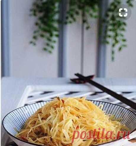 Быстрый рецепт картофеля по - китайски - Закуска - Информационно - развлекательный портал.