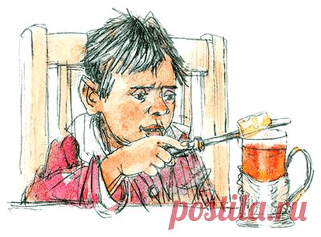 """""""Золотые слова"""" иллюстрация к аудиосказке для детей"""
