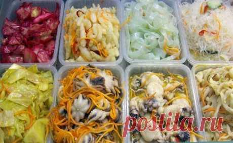 Салаты по-корейски. 6 обалденно вкусных рецептов! Для всех любителей корейских салатов, мы подготовили эту замечательную подборку рецептов.