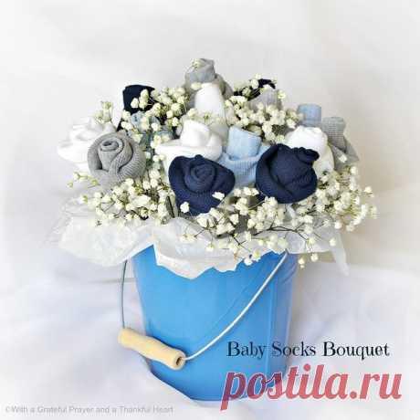 Букет из носков: оригинальная идея упаковки подарка — Сделай сам, идеи для творчества - DIY Ideas