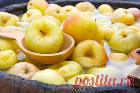 Яблочки моченые: как приготовить вкуснейшую заготовку