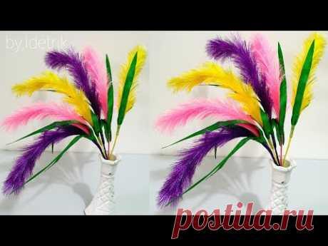 Как сделать цветы из атласных лент для украшения стола д