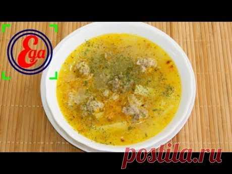 La sopa con las albondiguillas