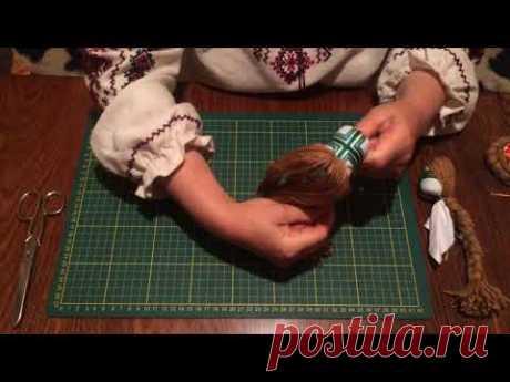 Мотанка своими руками: Как сделать волосы для куклы