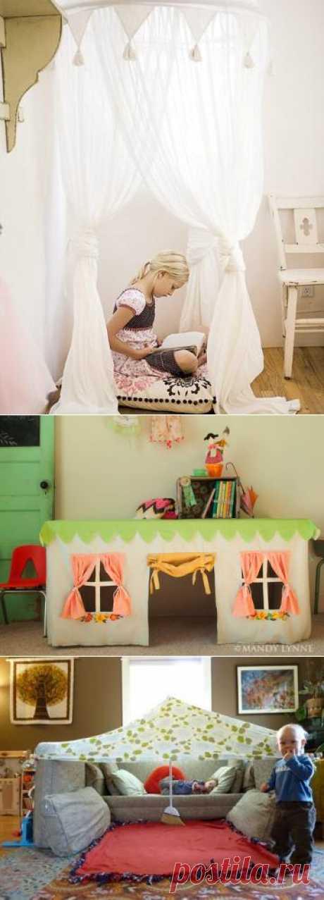 33 детских домика в домике