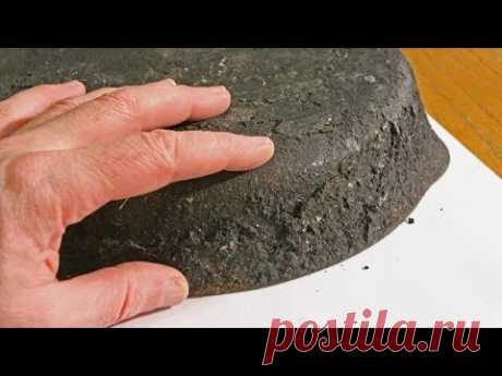 ✅Как очистить сковороду от застарелого нагара и жира.