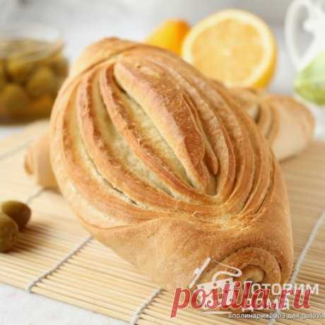 Слоеный хлеб - пошаговый рецепт с фото на Готовим дома