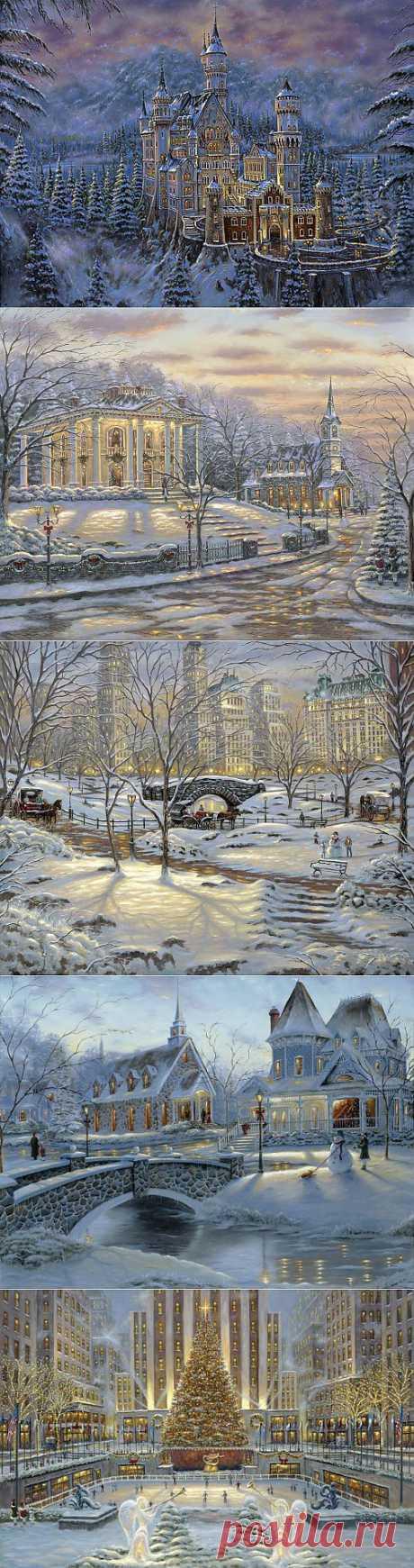 Зимние пейзажи от Robert Finale. (10 фото) » Вернисаж » COMGUN.RU - Сайт для увлеченных людей!