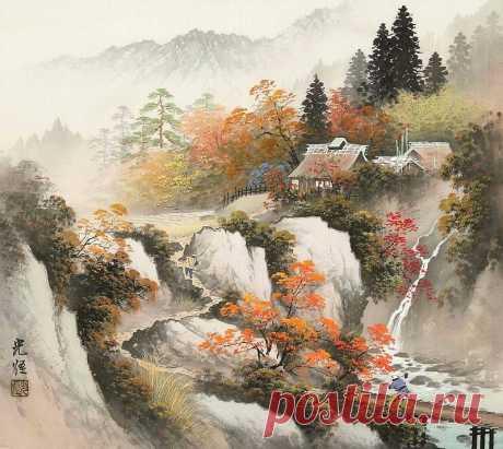 Сансуй-га - японский стиль живописи
