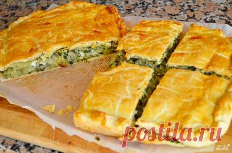 Быстрый пирог с капустой - пошаговый кулинарный рецепт с фото на Повар.ру