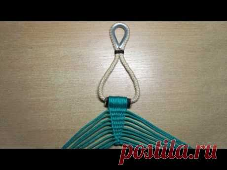 We do Ch.2 hammock Fastening and weaving of extensions.