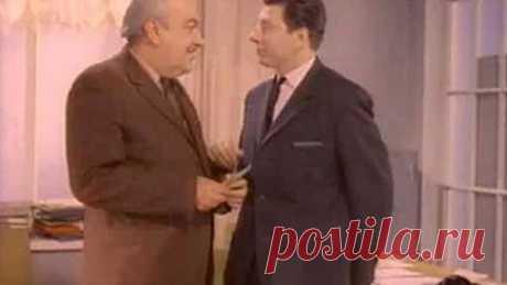 """Фитиль """"Зайдите завтра"""" (1966)  Замечательно! Но курсы по выращиванию помидоров в ящиках под столом, я не закончил ((("""