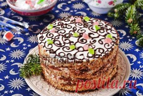 Торт «Арабская ночь» рецепт с фото, как приготовить на Webspoon.ru