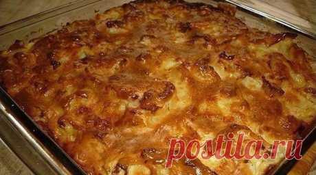 Ленивый капустный пирог: Очень быстрый и вкусный