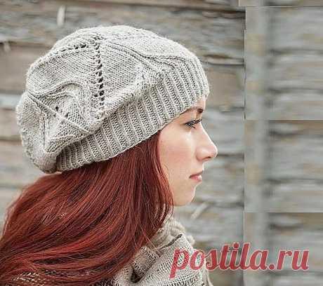 Вязаные шапки 2015-2016 со схемами спицами женские - С описанием и фото - Видео уроки