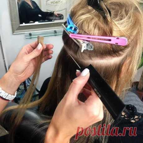 Отрастить волосы с помощью наращивания - раскрываем секреты в блоге студии Ольги Полоник