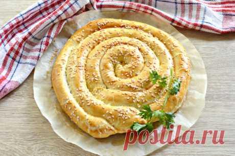 Слоеный пирог с сыром — Sloosh – кулинарные рецепты
